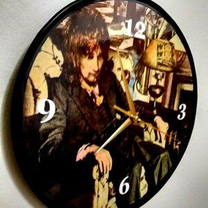 ROD STEWART - NEVER A DULL ..  12 IN WALL CLOCK